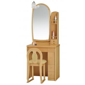 一面鏡 ドレッサー サフラン ナチュラル色
