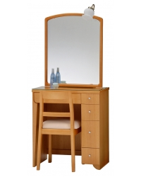 一面鏡 ドレッサー シーレイⅡ ナチュラル色