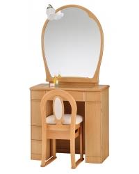 一面鏡 ドレッサー エイト ナチュラル色
