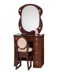 一面鏡 ドレッサー コペン ナラダーク色