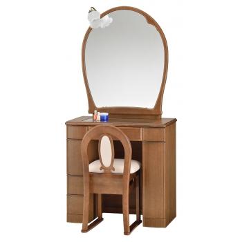 一面鏡 ドレッサー エイト ナラ色