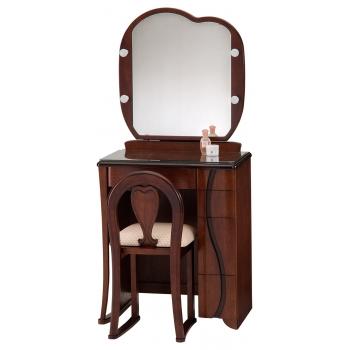 一面鏡 ドレッサー ラパン ダーク色